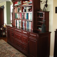 Freestanding Cabinet with Bookshelf - Red Bank, NJ