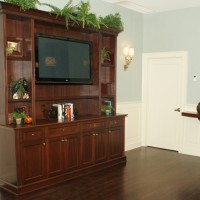 Built-in TV Cabinet - Red Bank, NJ